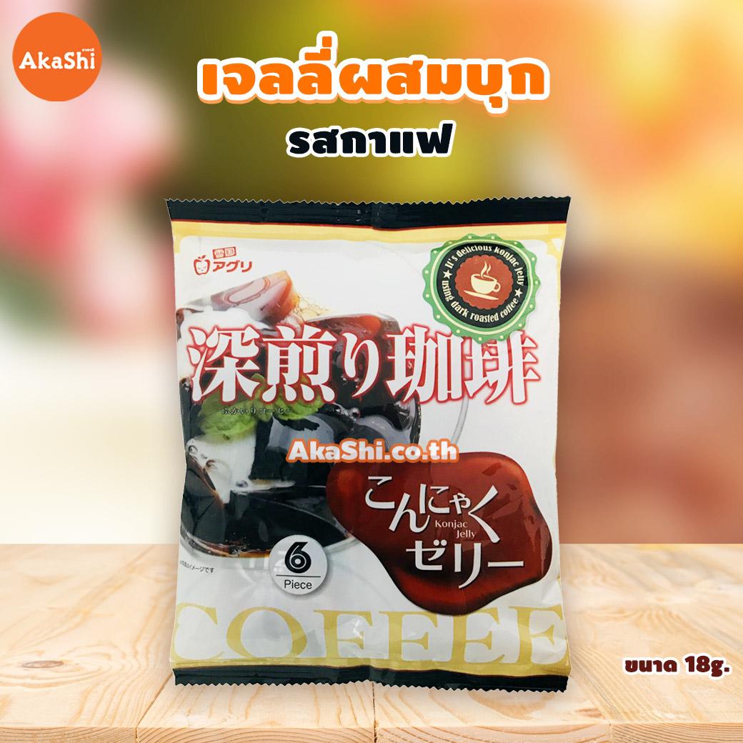 Yukiguni Aguni Konjac Jelly Mikan - เจลลี่ผสมบุกญี่ปุ่น รสกาแฟ