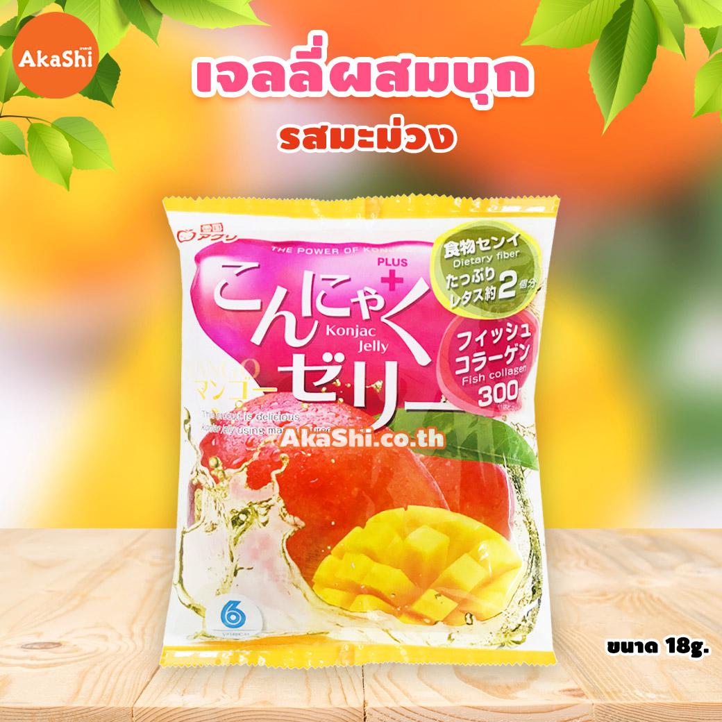 Yukiguni Aguni Konjac Jelly Mango - เจลลี่ผสมบุกญี่ปุ่น รสมะม่วง