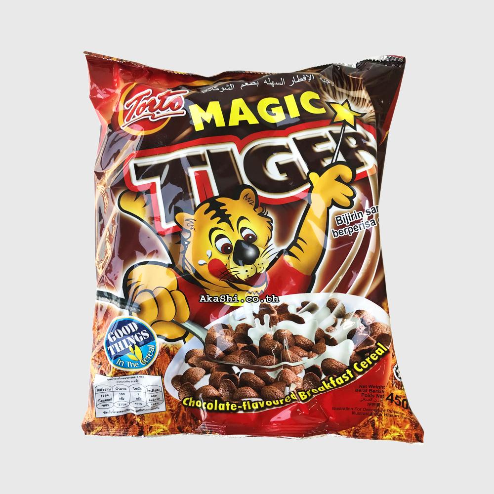 Torto Magic Tiger 450 g. - ซีเรียล ช็อกโกแลต 450 กรัม