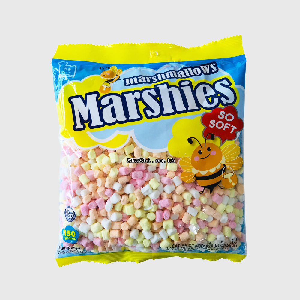 Marshies Mini Mini Assorted Marshmallows - มาร์ชแมลโลว์ขนาดมินิ